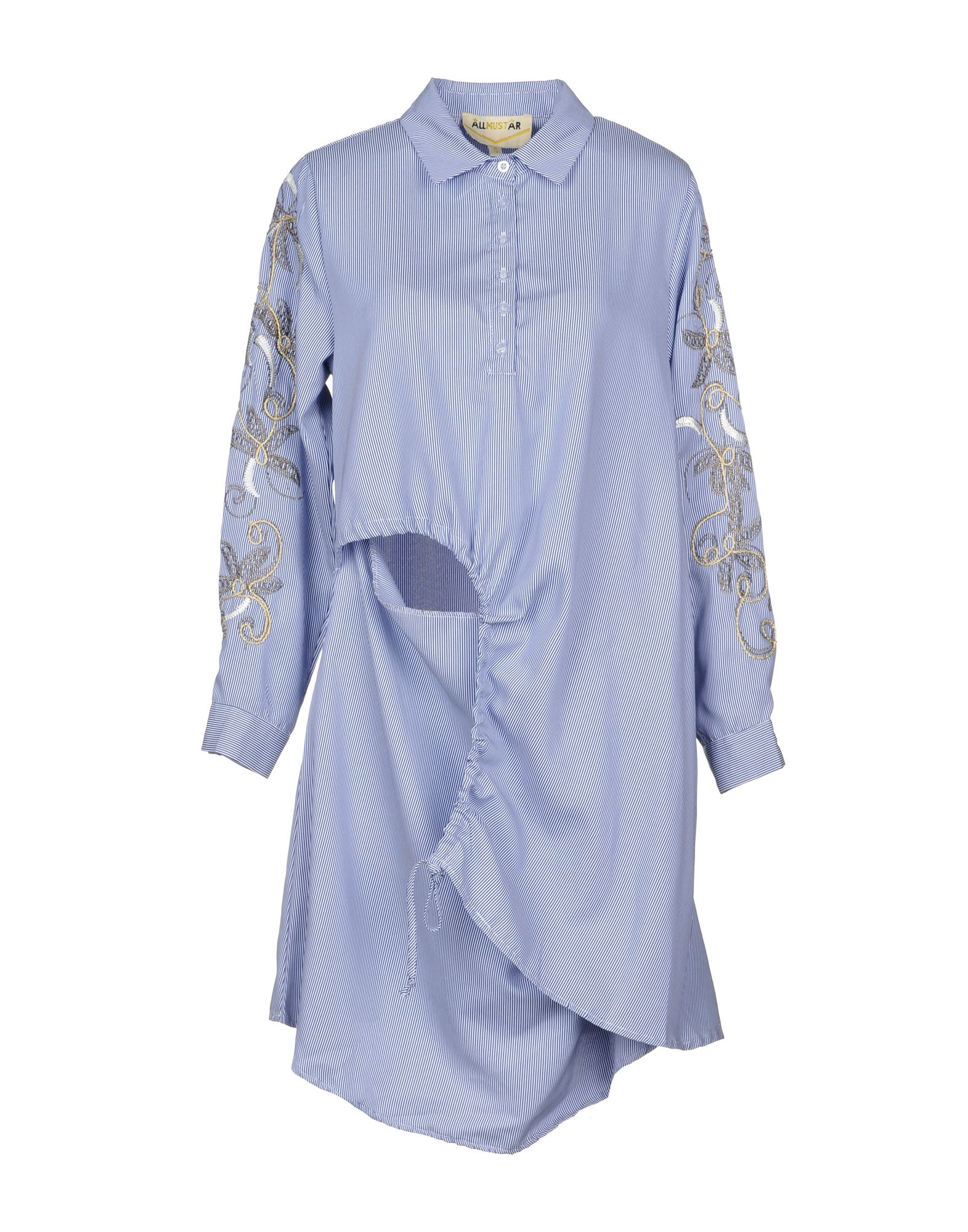 MUST Короткое платье платье рубашка в полоску dynastie
