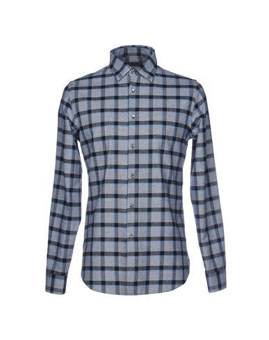 ALESSANDRO DELL'ACQUA メンズ シャツ ブルー 40 コットン 100%