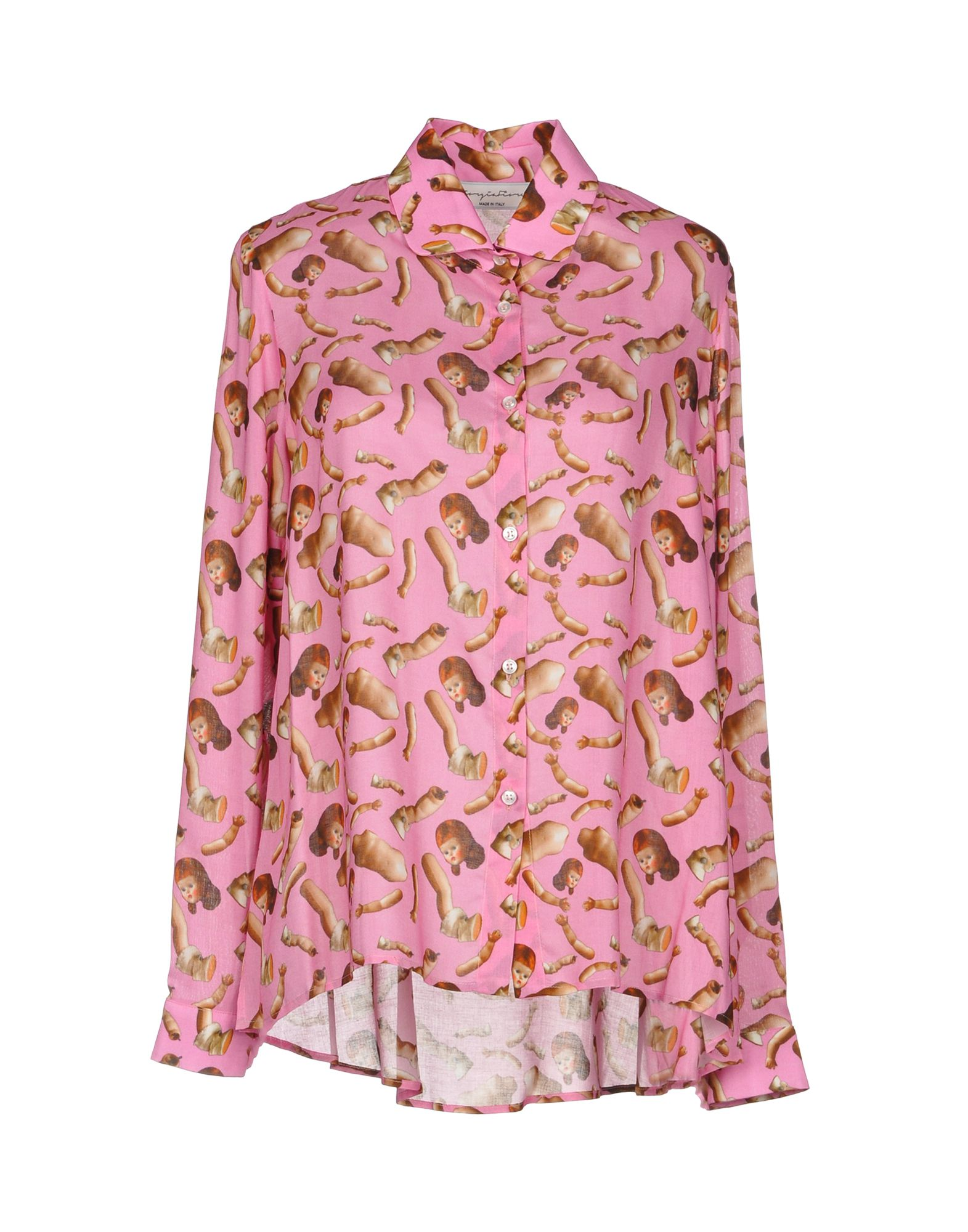 GIORGIA FIORE Patterned Shirts & Blouses in Fuchsia