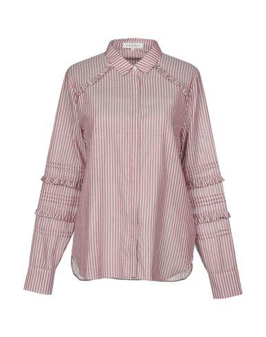 Фото - Pубашка от SECOND FEMALE пастельно-розового цвета