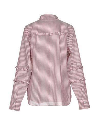 Фото 2 - Pубашка от SECOND FEMALE пастельно-розового цвета