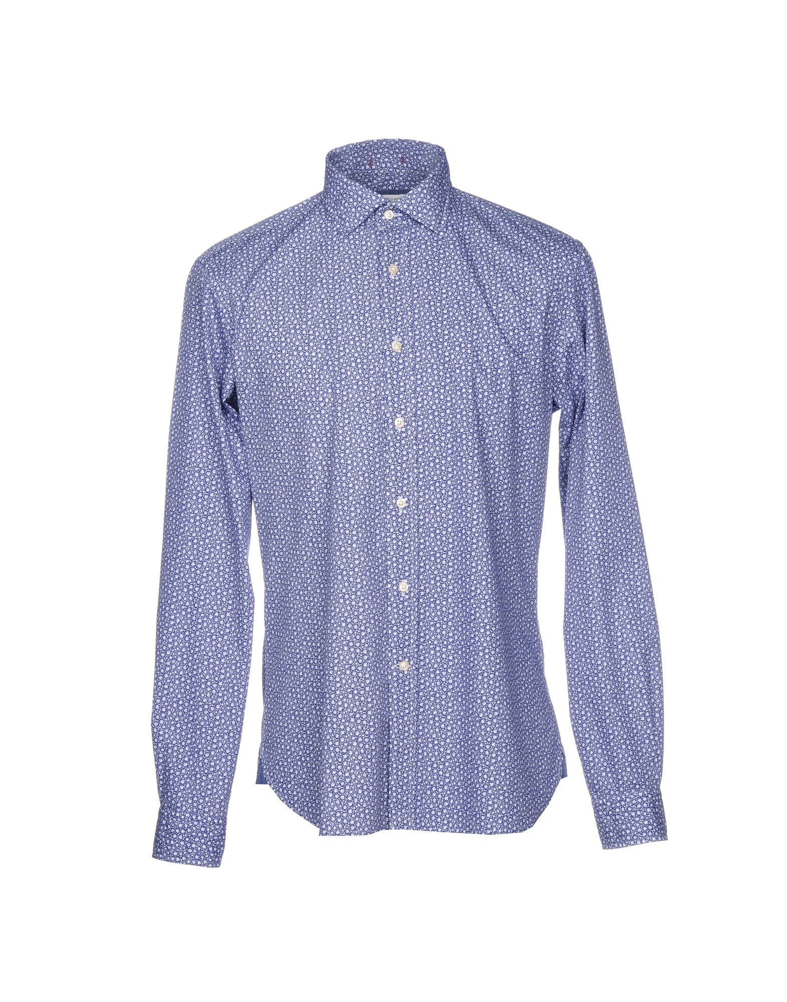 《送料無料》U.S.POLO ASSN. メンズ シャツ ブルー M コットン 100%