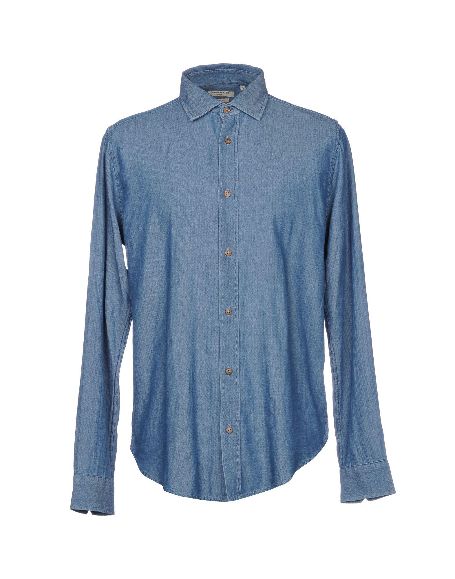 RANSOM Джинсовая рубашка sara craven dark ransom