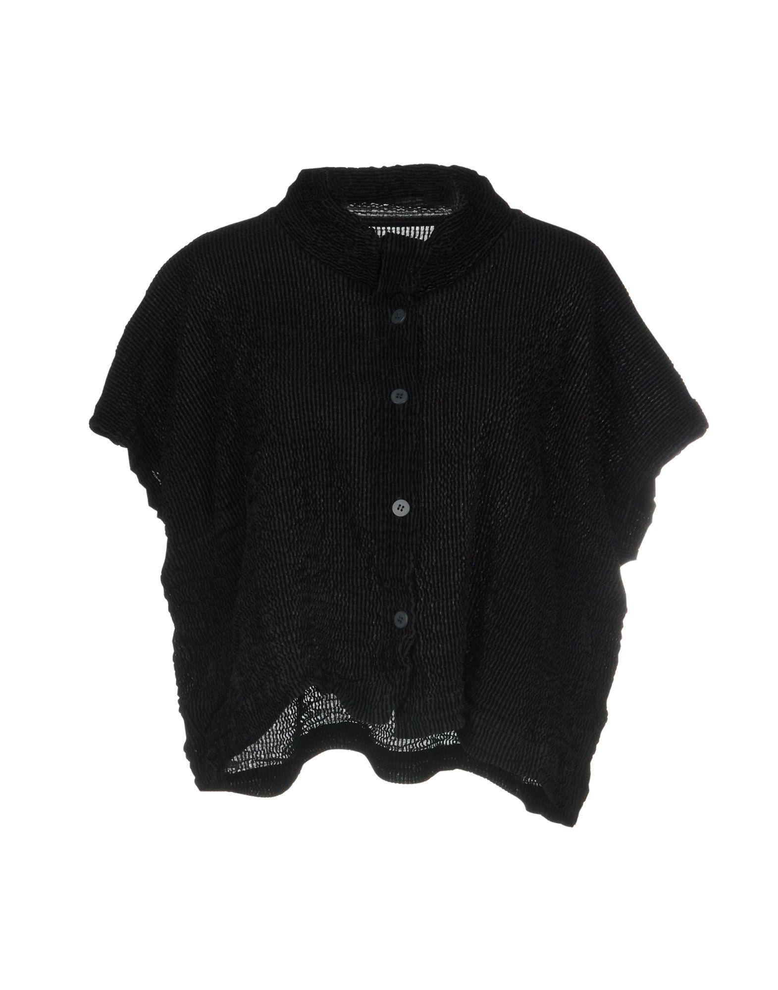 ISSEY MIYAKE CAULIFLOWER Shirts in Black