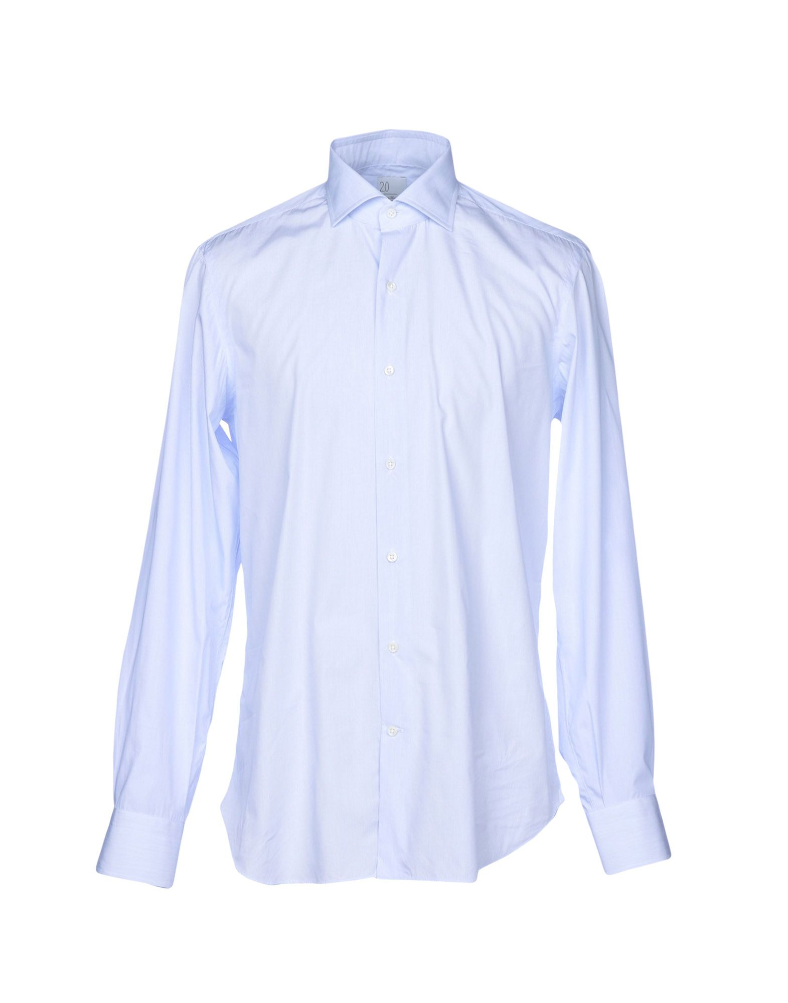 《送料無料》MARIA SANTANGELO Napoli メンズ シャツ スカイブルー 42 コットン 100%