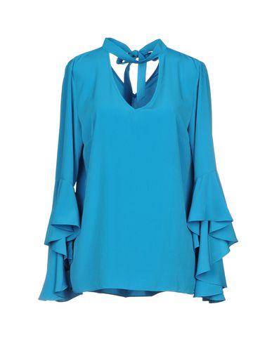 Фото - Женскую блузку HANITA бирюзового цвета