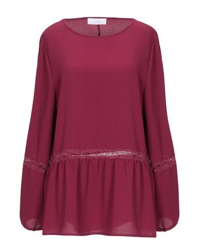 Фото - Женскую блузку CLIPS MORE цвет пурпурный