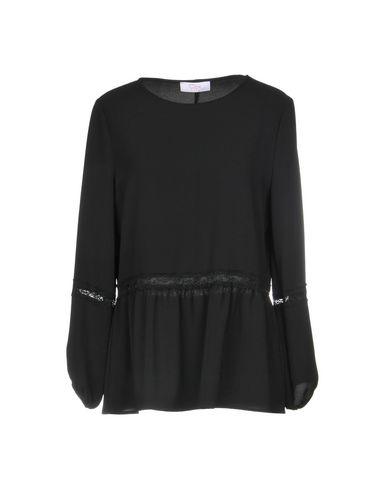 Фото - Женскую блузку CLIPS MORE черного цвета