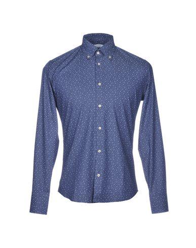 Фото - Pубашка от HONORED грифельно-синего цвета