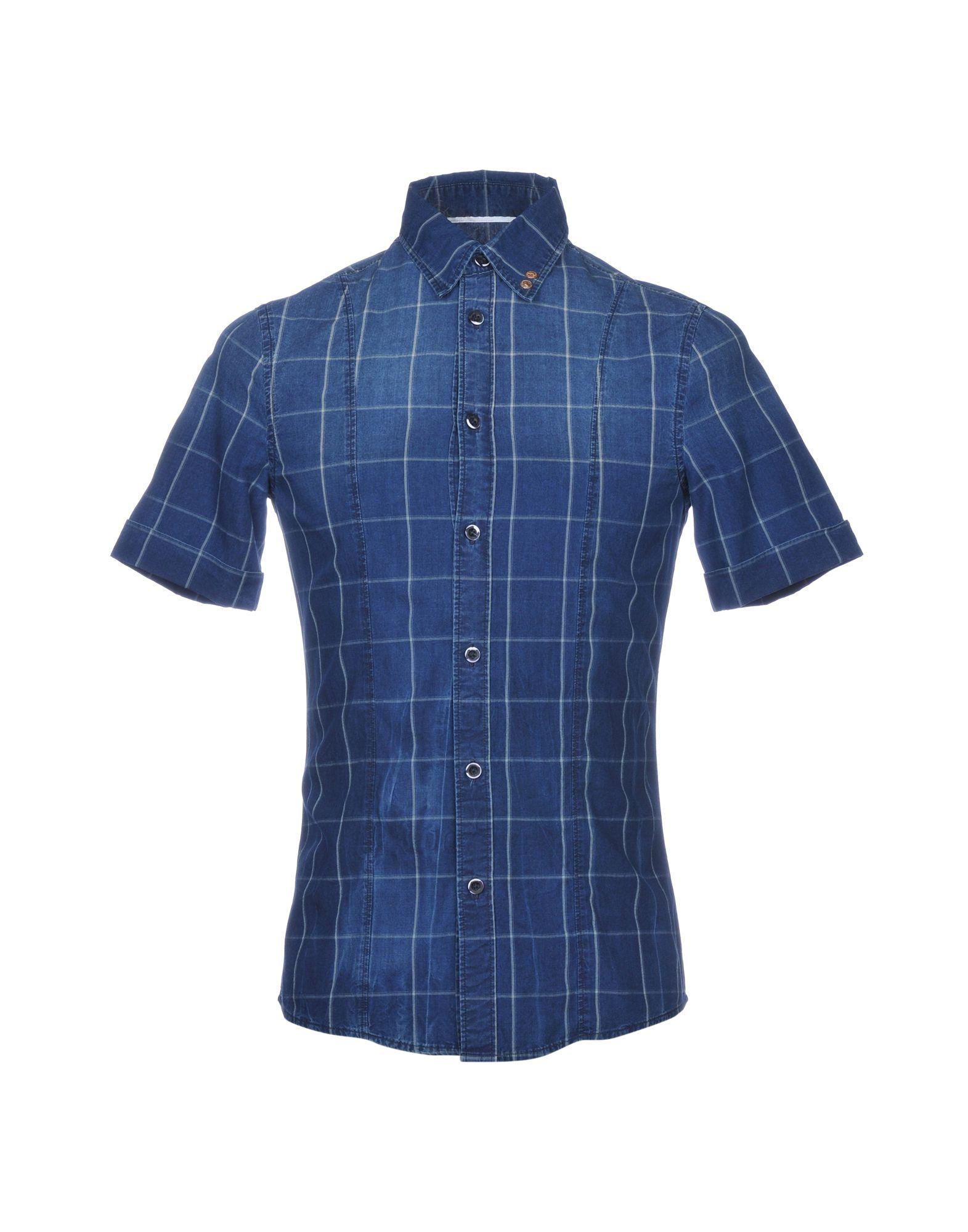ARMANI JEANS Джинсовая рубашка рубашка armani jeans 6x6c24 6n0xz 2513