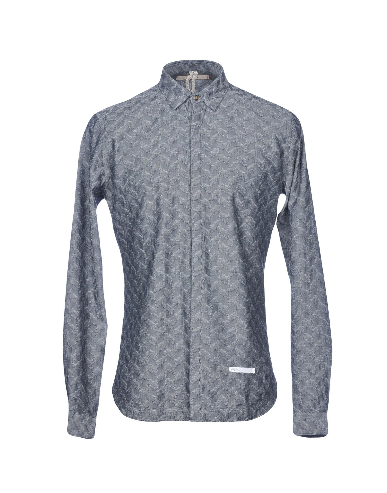 DNL Patterned Shirt in Grey