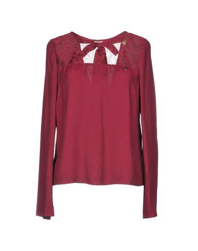Фото - Женскую блузку  цвет баклажанный