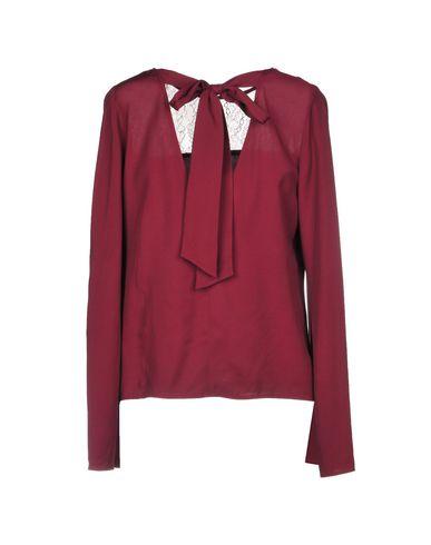 Фото 2 - Женскую блузку  цвет баклажанный