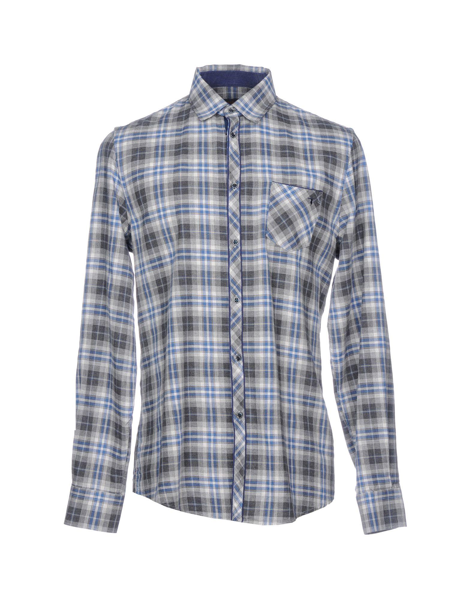 TRUSSARDI JEANS Pубашка trussardi jeans trussardi jeans 56a49 49 61