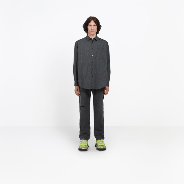 Normal Fit 'Ego' Shirt