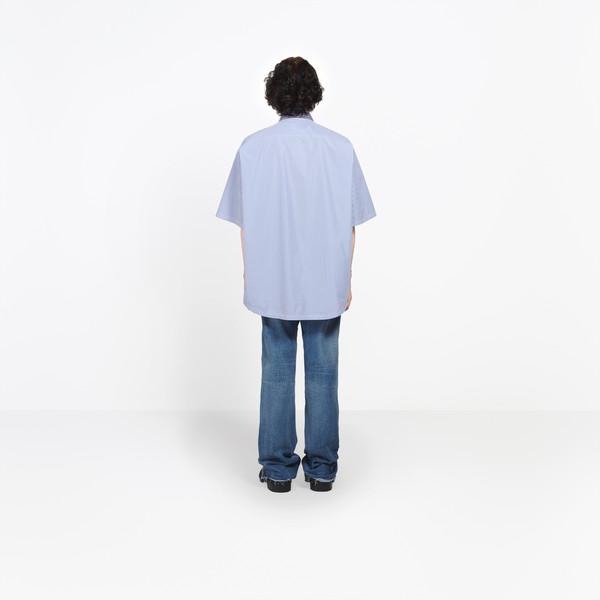 BALENCIAGA shirts Man Double Shirt h
