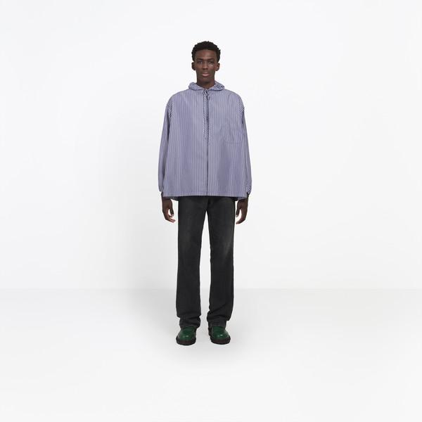 Zipped Hood Shirt