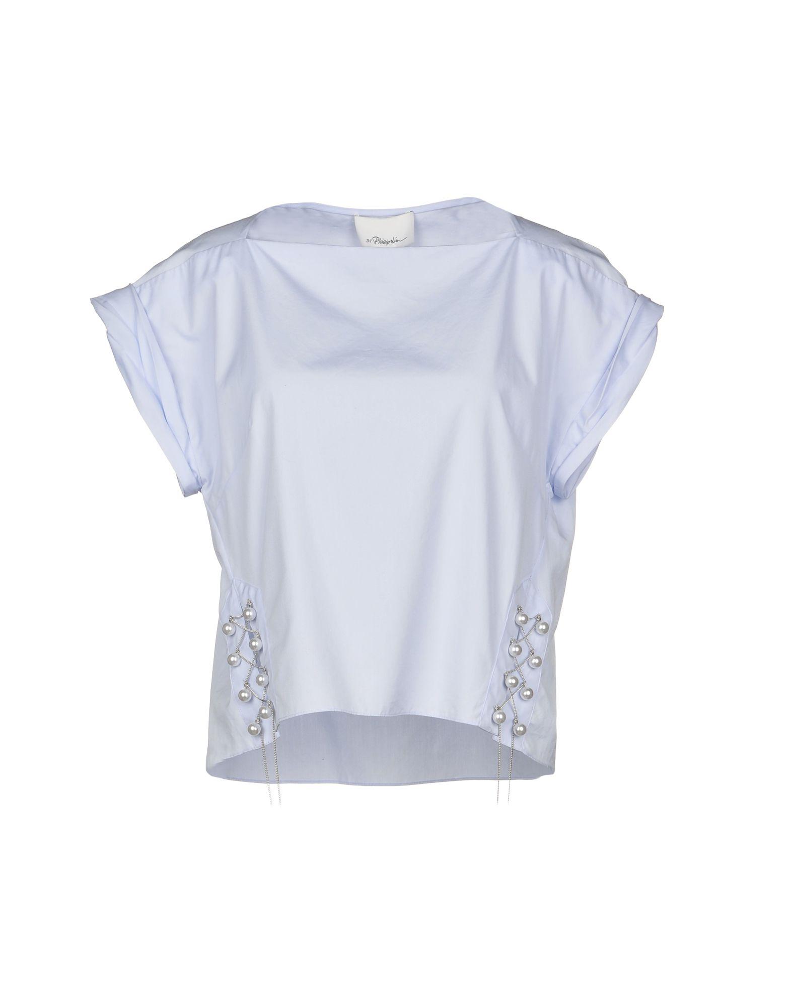 3.1 PHILLIP LIM Блузка 3 1 phillip lim асимметричная хлопковая блузка