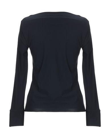 Фото 2 - Женскую футболку CHRISTIES À PORTER черного цвета