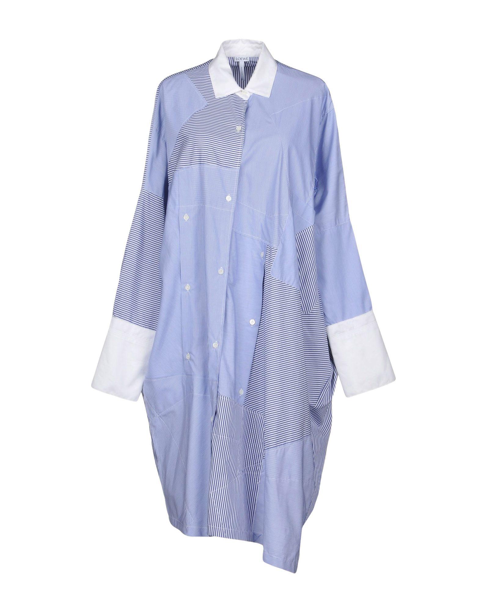 LOEWE Платье до колена цена 2017