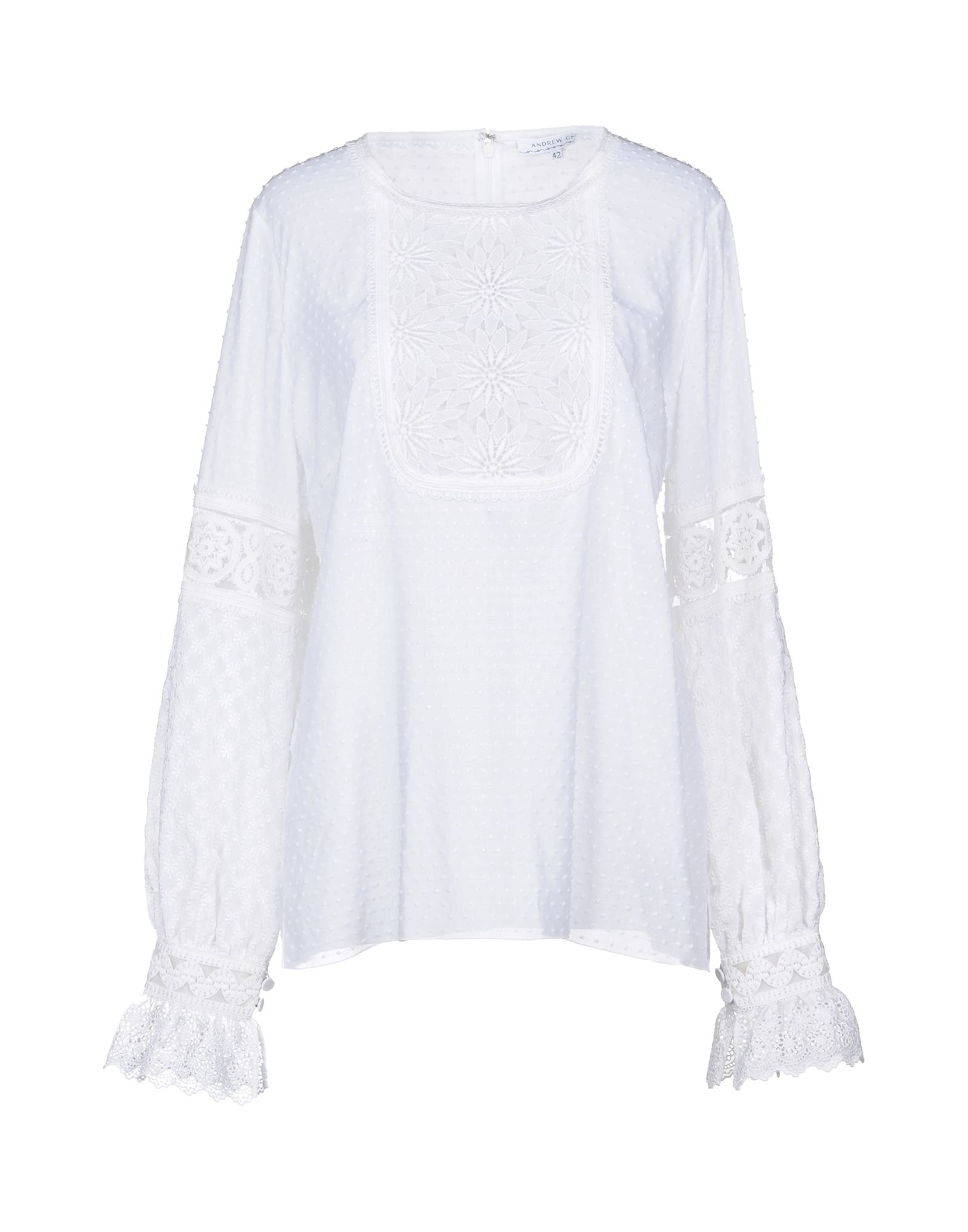 ANDREW GN Blouse in White