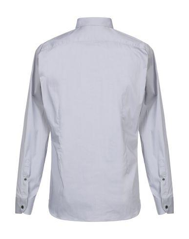 Фото 2 - Pубашка от DOMENICO TAGLIENTE светло-серого цвета