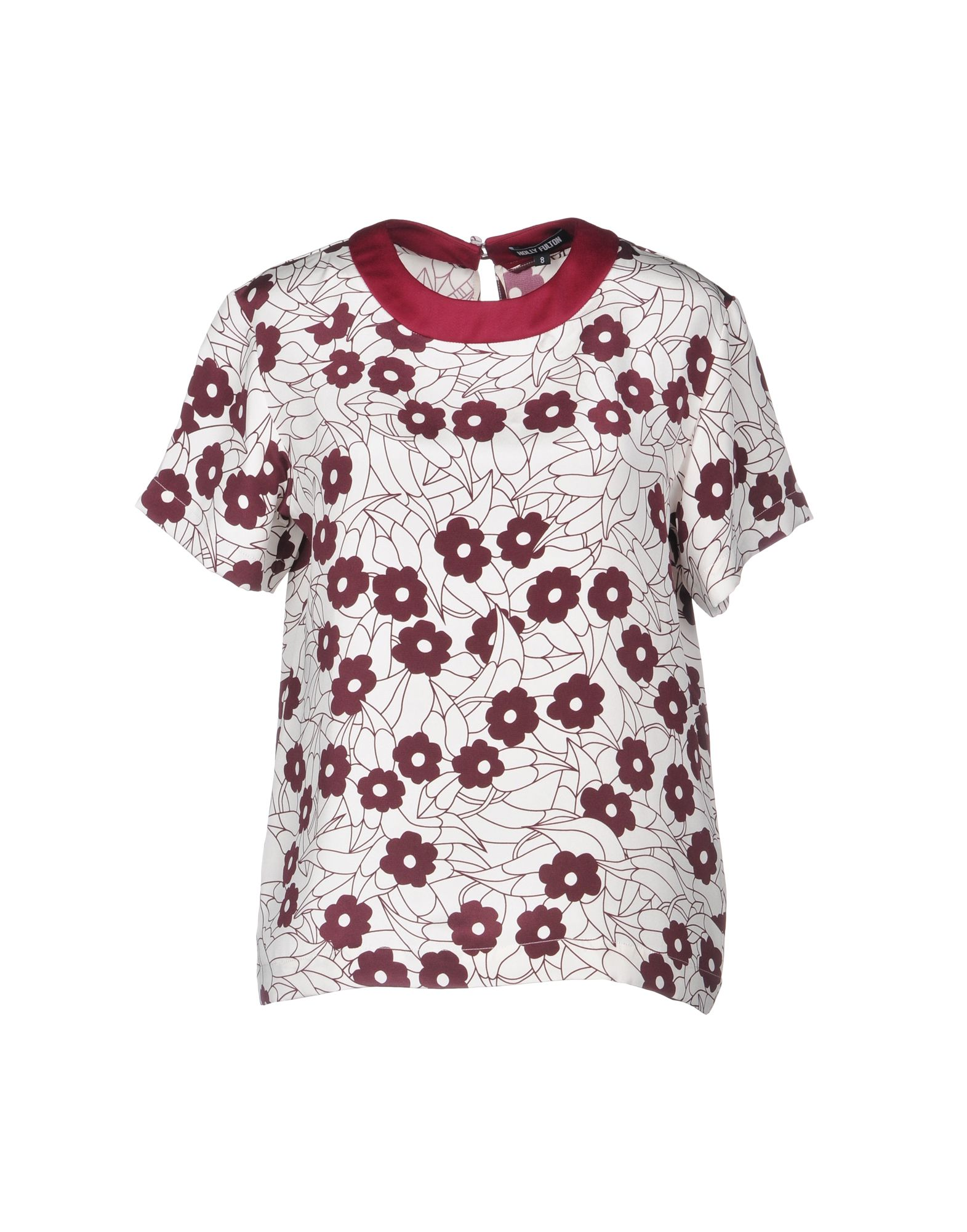 HOLLY FULTON Blouse in Maroon