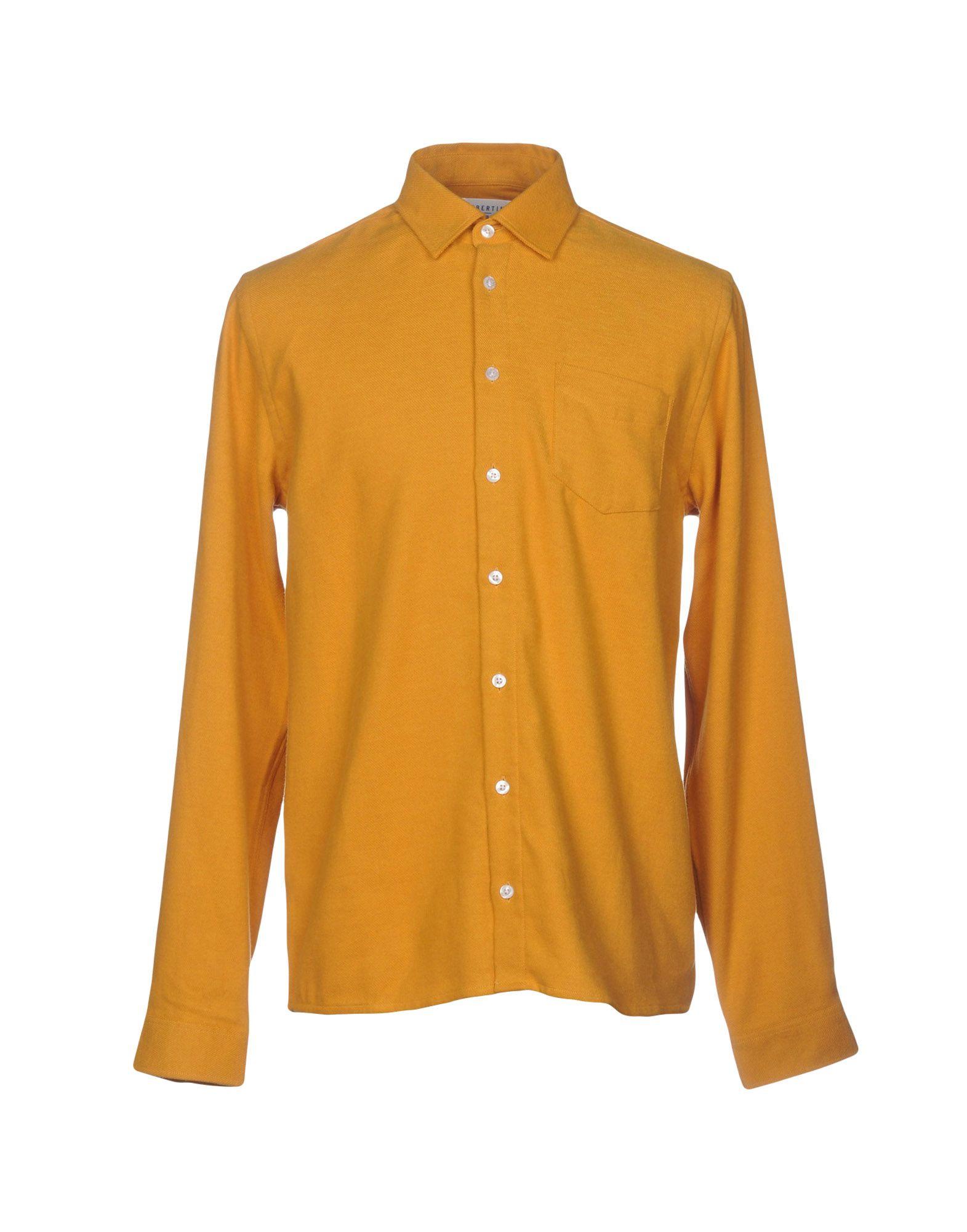 《セール開催中》LIBERTINE-LIBERTINE メンズ シャツ オークル S コットン 100%