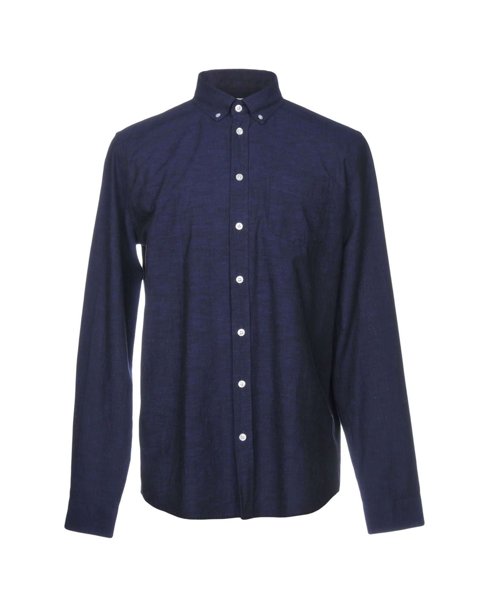《セール開催中》LIBERTINE-LIBERTINE メンズ シャツ ダークブルー S コットン 100%