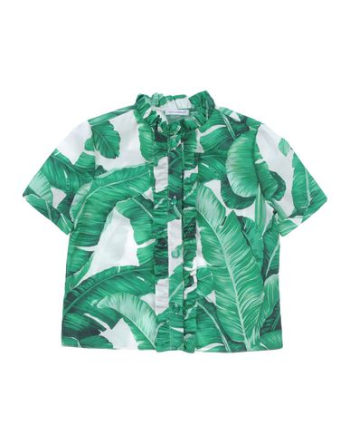 Купить Pубашка зеленого цвета