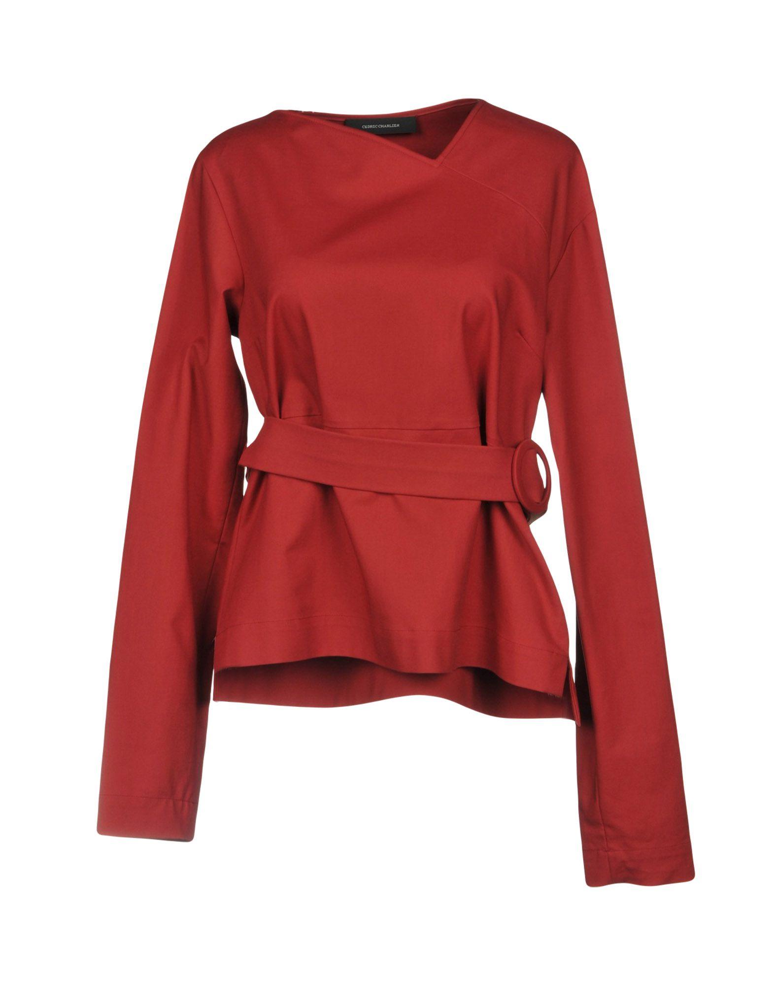 CEDRIC CHARLIER Блузка cedric charlier пиджак
