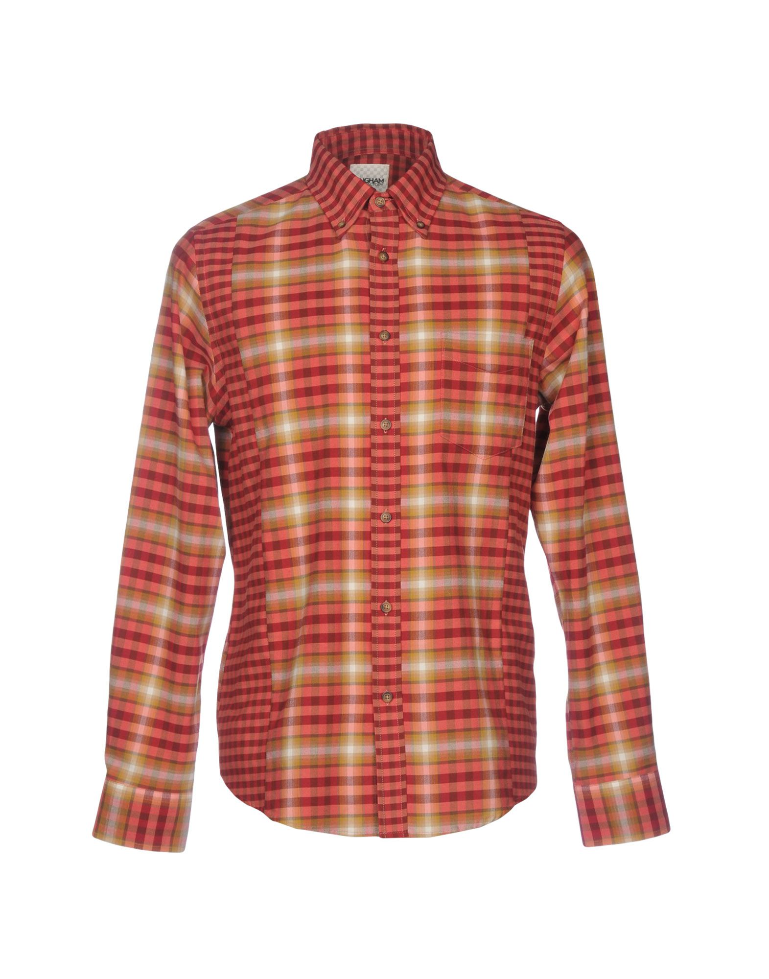 GINGHAM SHIRT FACTORY by BEN SHERMAN Pубашка салатник certified вино и виноград 14см 0 8л керамика