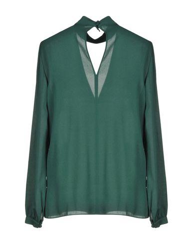 Фото 2 - Женскую блузку A.L.C. зеленого цвета
