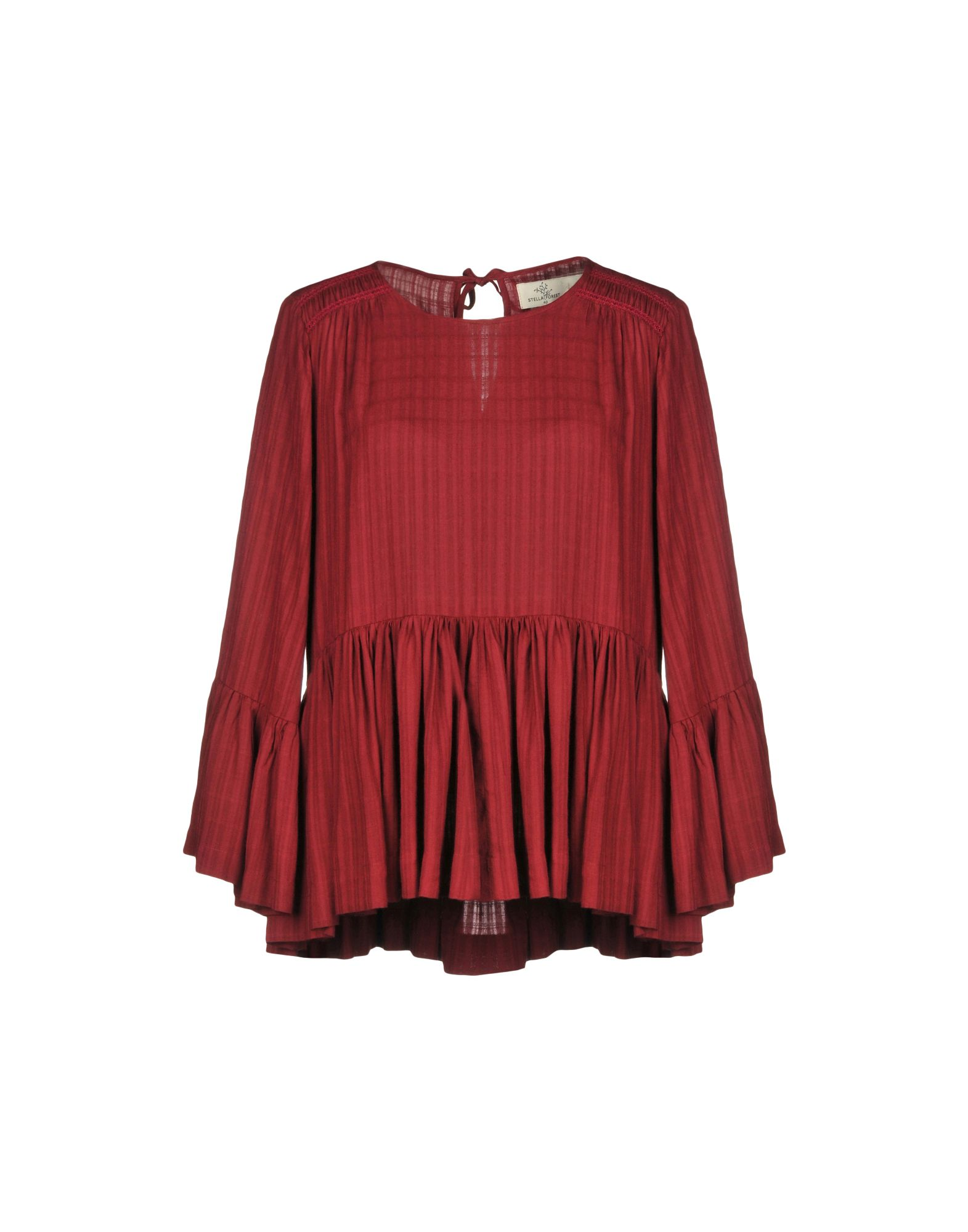 STELLA FOREST Blouse in Maroon