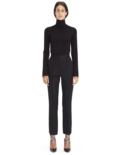 BLACK TURTLENECK SWEATER - Lanvin