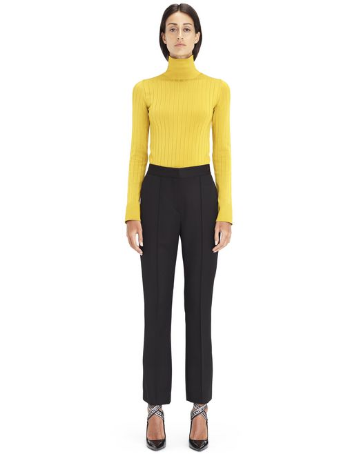 GOLDEN YELLOW TURTLENECK SWEATER - Lanvin