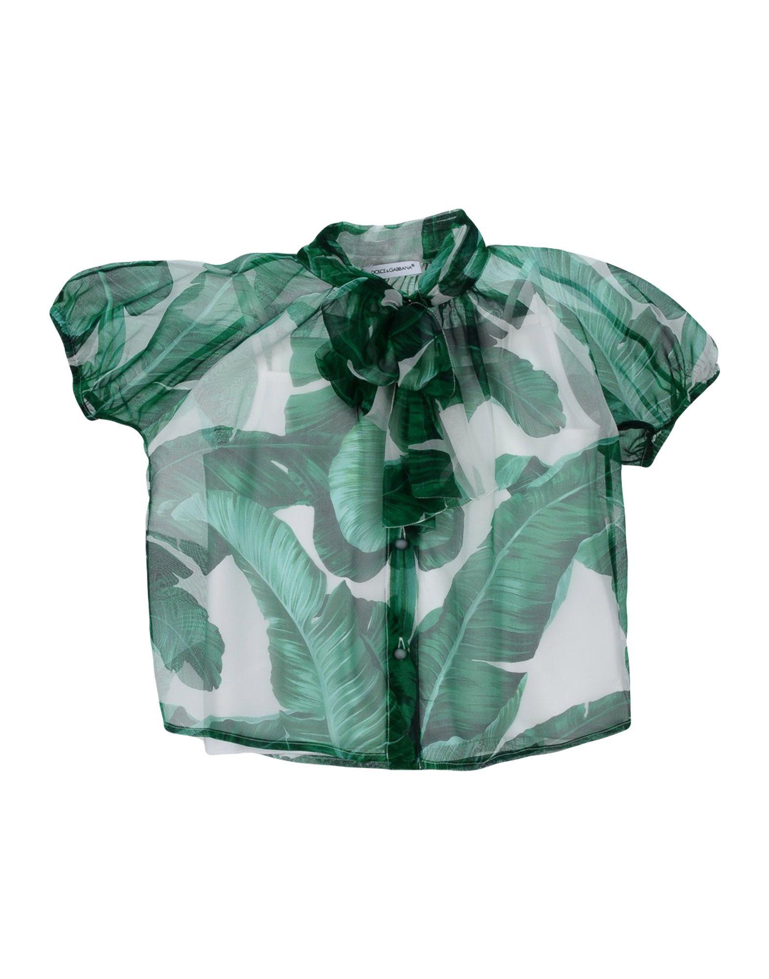 DOLCE & GABBANA Mädchen 0-24 monate Bluse10 grün