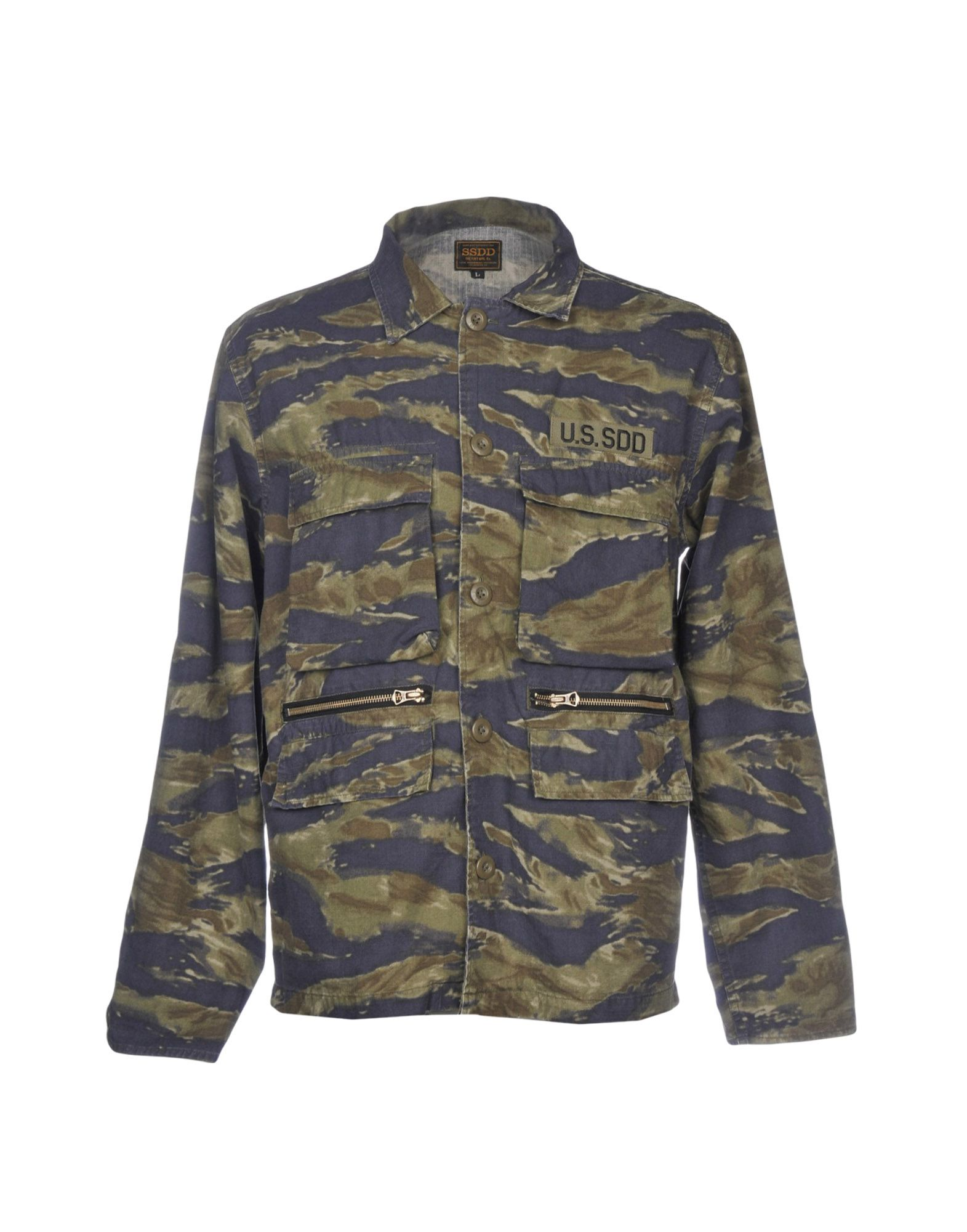 FUCT SSDD Jacket in Military Green