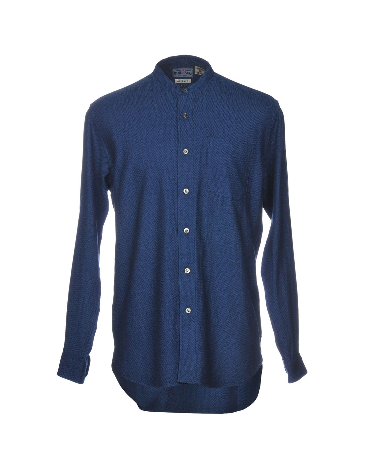 BLUE BLUE JAPAN Pубашка
