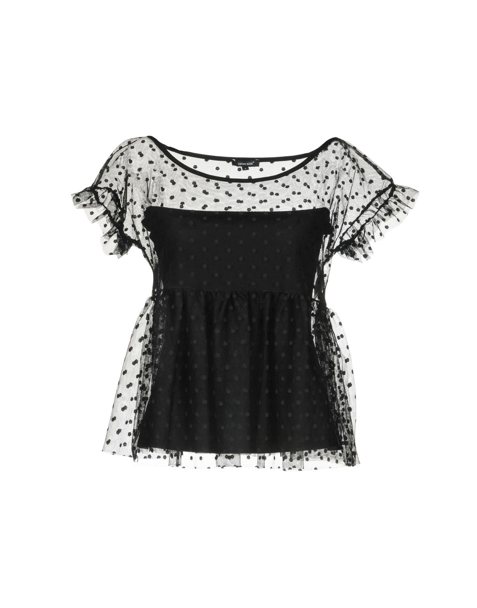 DENNY ROSE Блузка denny rose рубашка с длинными рукавами