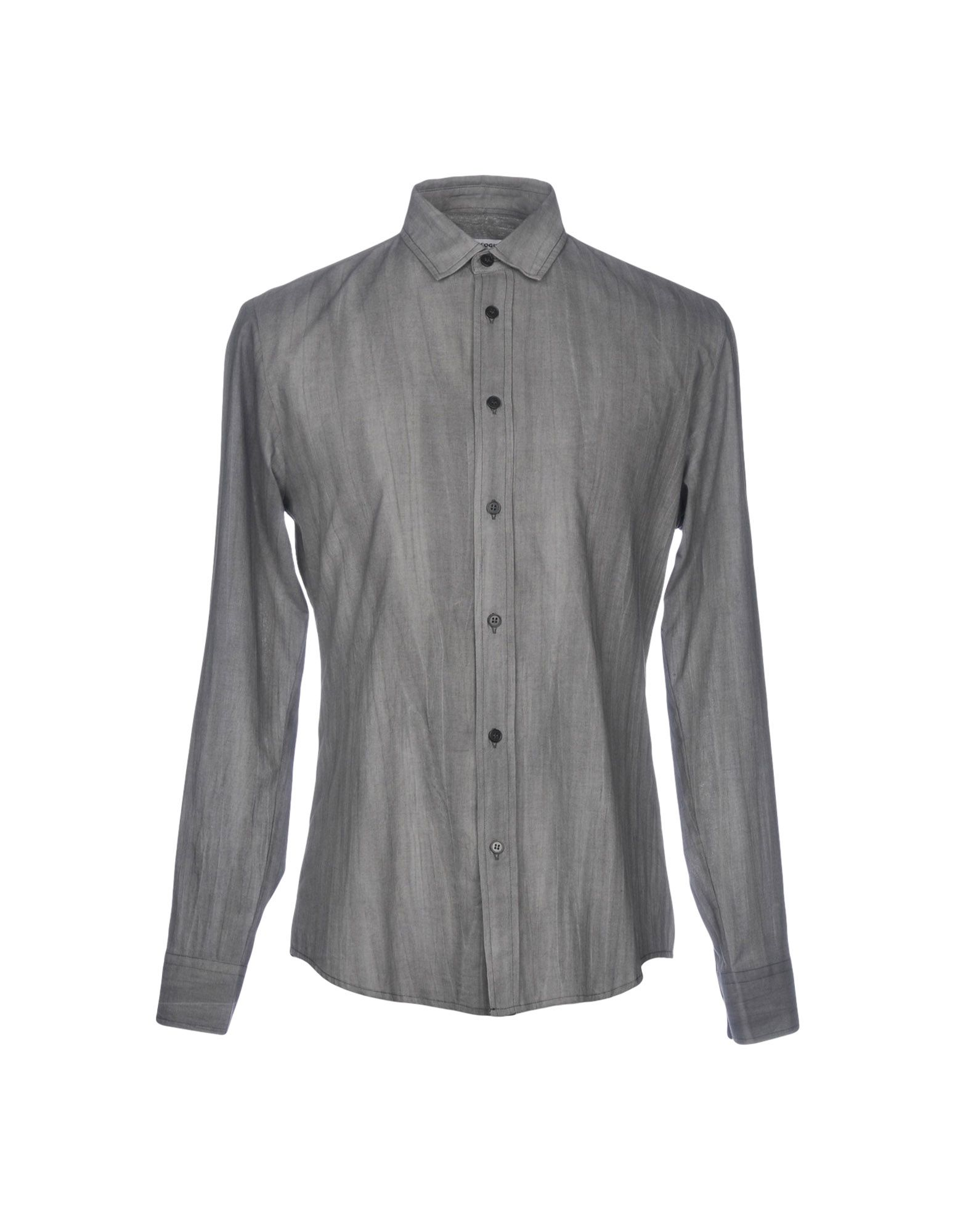 ALL APOLOGIES Solid Color Shirt in Grey
