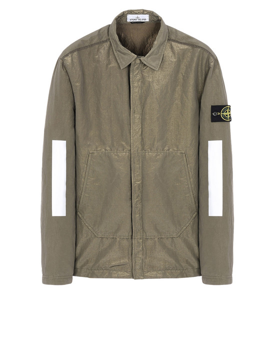 STONE ISLAND OVER SHIRT 10111 COTTON METAL
