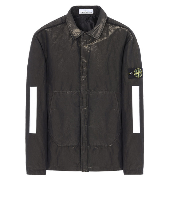 STONE ISLAND OVERSHIRT 10111 COTTON METAL