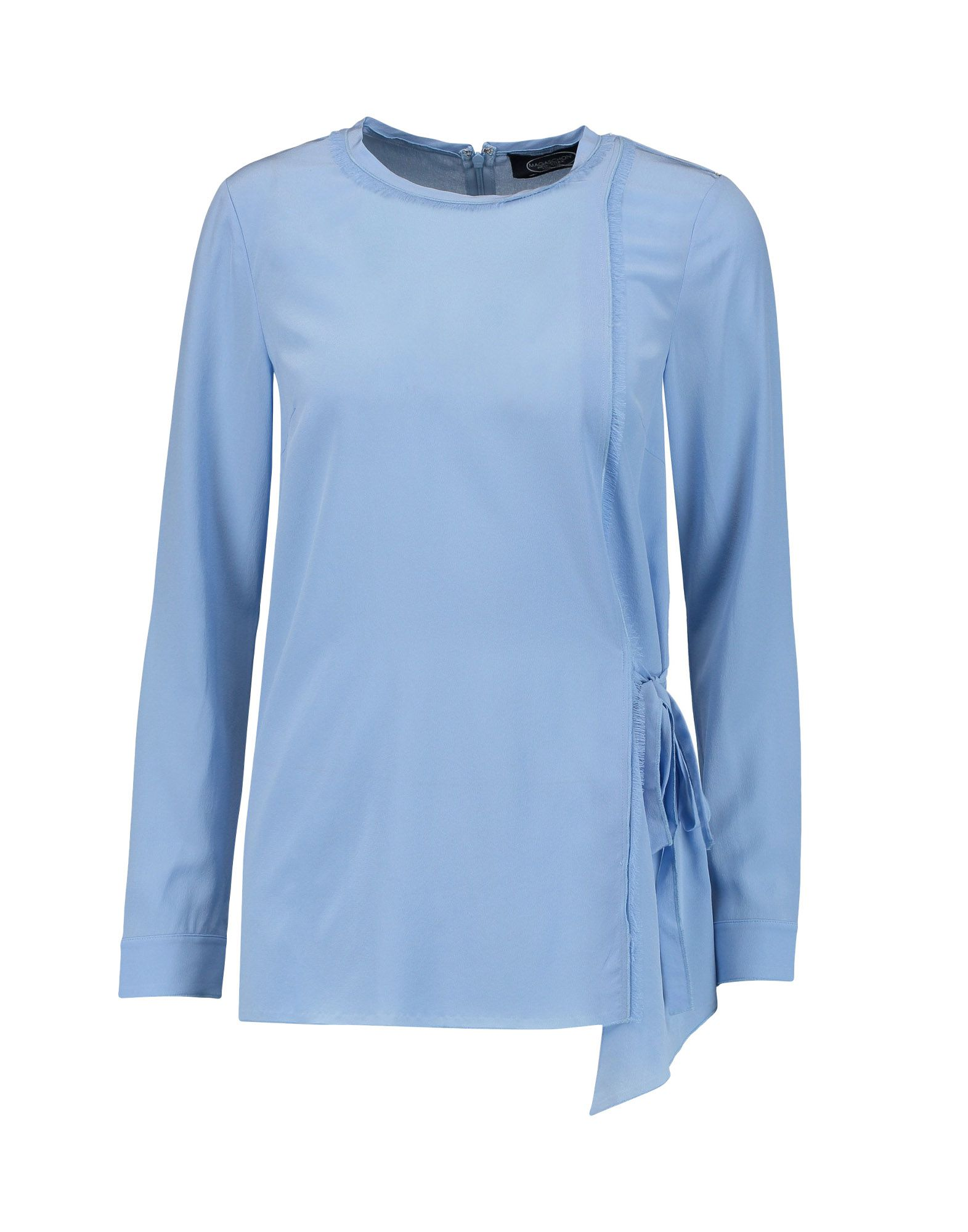 MAGASCHONI Blouse in Sky Blue