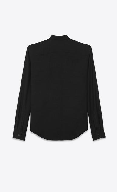 """SAINT LAURENT カジュアルシャツ レディース Monogram tassel shirt in """"voile de laine"""" b_V4"""