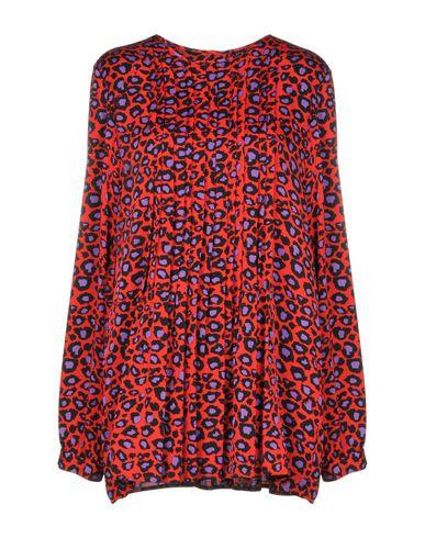 Фото - Женскую блузку SLY010 красного цвета