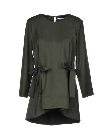 Купить Женскую блузку SFIZIO темно-зеленого цвета