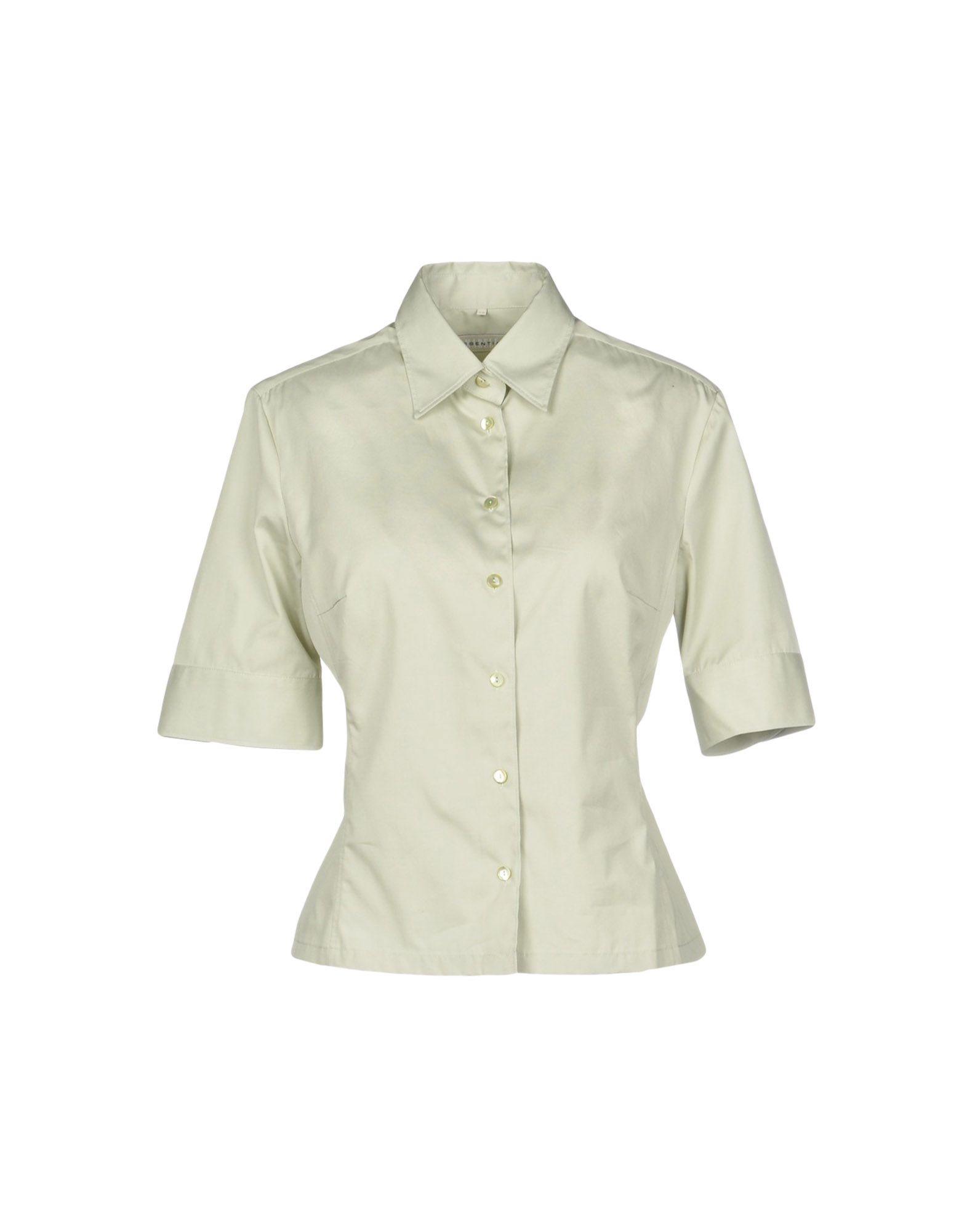 《送料無料》MARELLA レディース シャツ ライトグリーン 40 コットン 100%