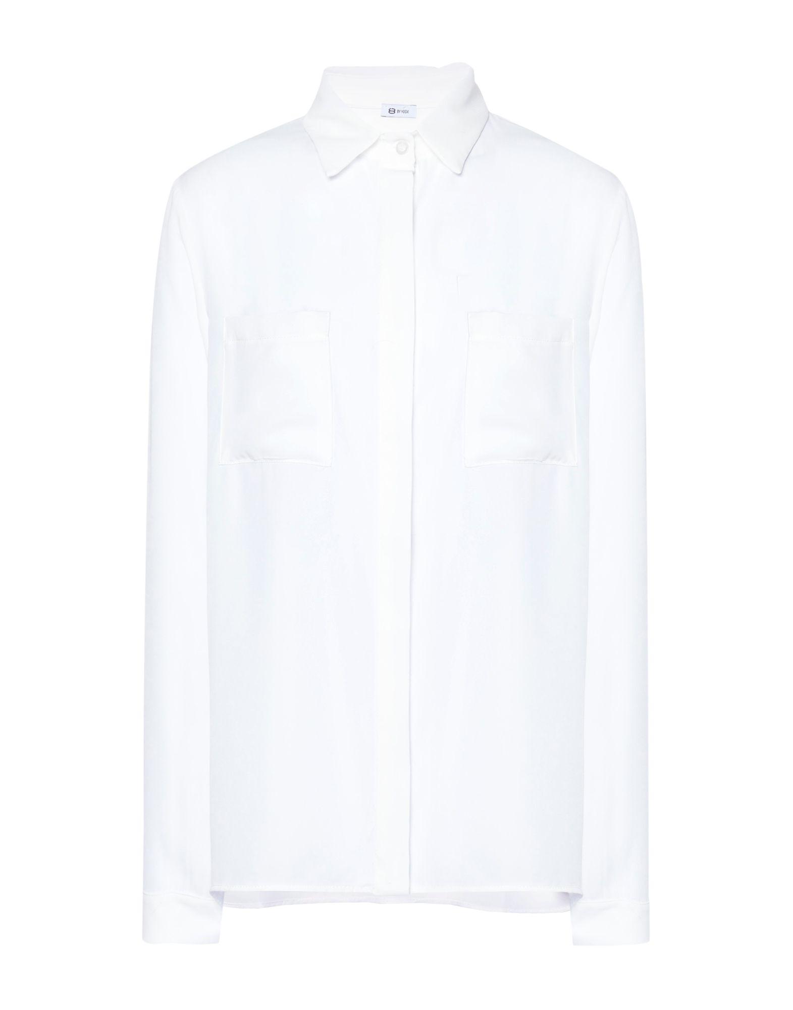 8 by YOOX Pубашка женские блузки и рубашки new 2015 hbkstop