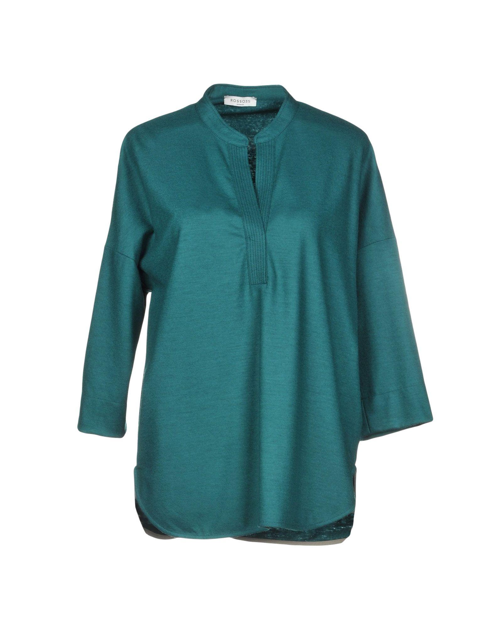 ROSSO35 Блузка rosso35 блуза rosso35 s2047b 44 бежевый
